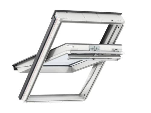 VELUX White PU centre-pivot roof window